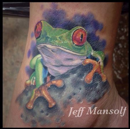 Bjeff Frog Handmade jeff mansolf tattoonow
