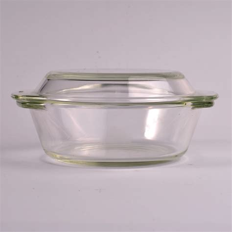 Canister For Kitchen microwave pyrex glass kitchen food container with glass