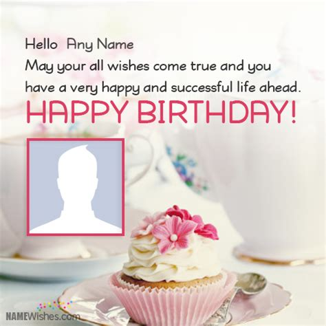 best happy birthday wishes with name and photo