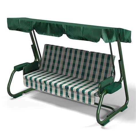 Outdoor Garden Swing Sofa 3d Obj