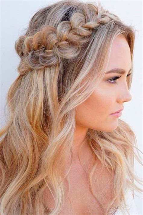 hairstyles down 86 half up half down bridesmaid hairstyles stylish ideas