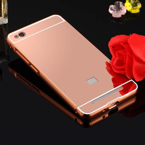 2in1 Mirror Xiaomi Redmi Note 3 Iring Silver xiaomi redmi 3 metal frame mirror back cover protective gold 13250 8 99