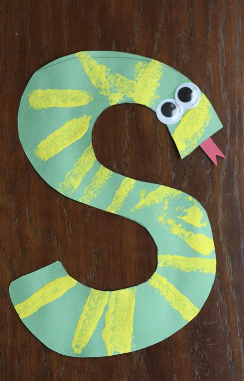S Is For Snake Alphabet Craft I Can Teach My Child