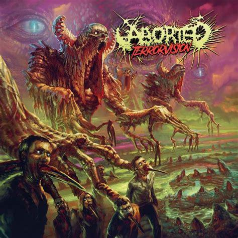 aborted visceral despondency aborted terror vision album details revealed