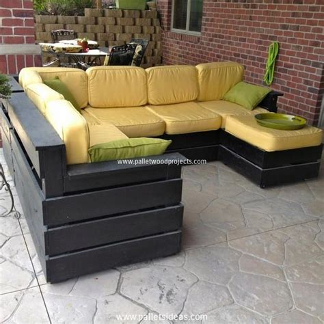 Pallet Patio Furniture Sets Pallet Wood Projects Pallet Furniture Patio