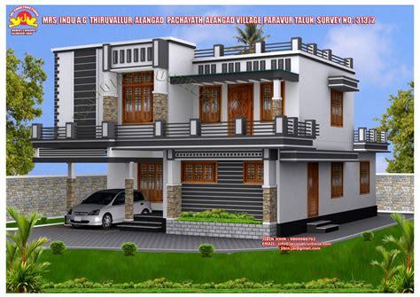 contemporary kerala model home plans