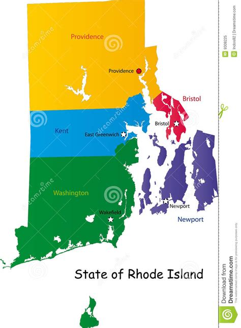 graphic design certificate rhode island map of rhode island state royalty free stock photo image