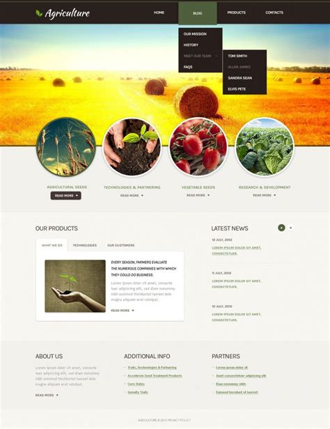 drupal templates responsive 5 best agriculture drupal templates themes free
