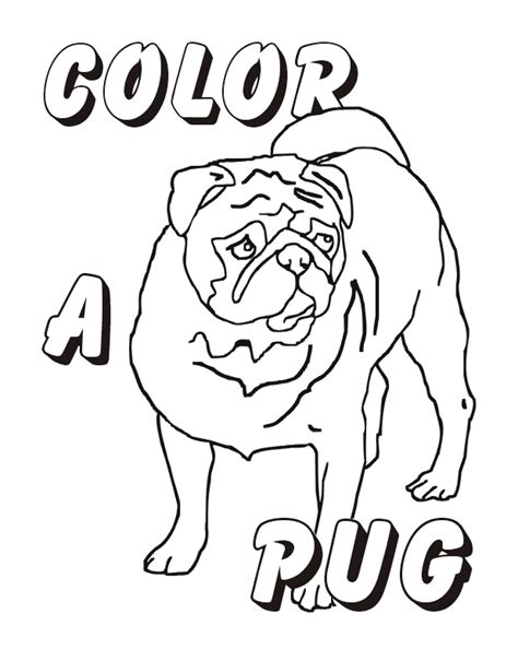 pug colouring pages pug coloring pages az coloring pages
