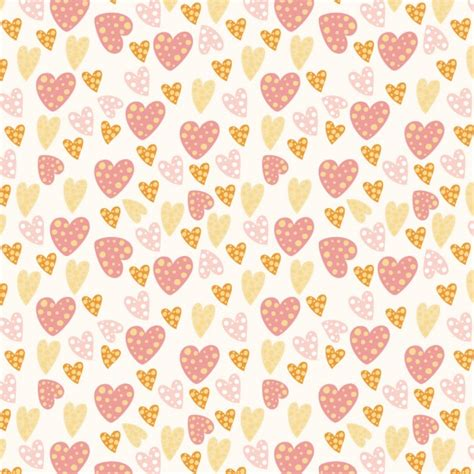 download heart pattern mp3 hearts pattern with dots vector free download