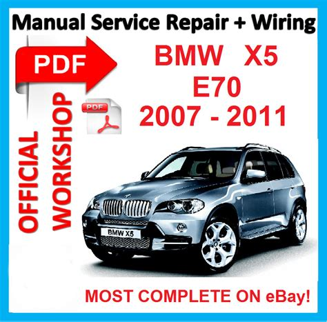 car owners manuals free downloads 2008 bmw x5 interior lighting factory workshop manual service repair for bmw x5 e70 2007 2008 2009 2010 2011 ebay
