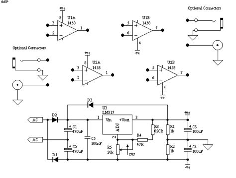series test l circuit diagram quot op test and design board quot