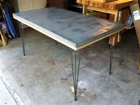 concrete table top lightweight composite concrete table top urethane coating