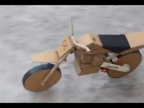 cara membuat motor mainan dari kardus cara membuat motor trail dari kardus youtube