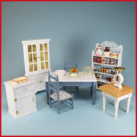 miniature dollhouse kitchen furniture vintage dollhouse miniature kitchen furniture by concord