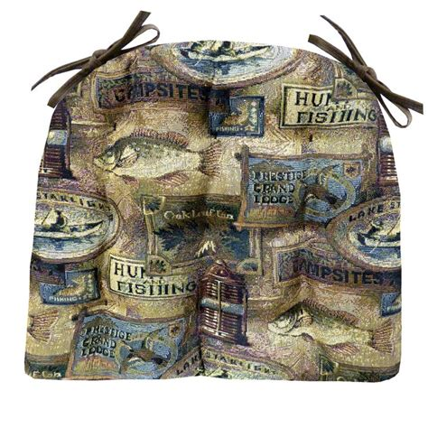 woodlands fish c ding chair cushion barnett products