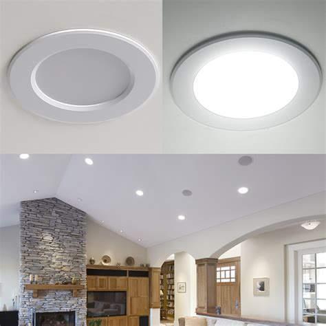 5 inch ceiling light 8w 3 5 inch led recessed ceiling lights daylight white le 174