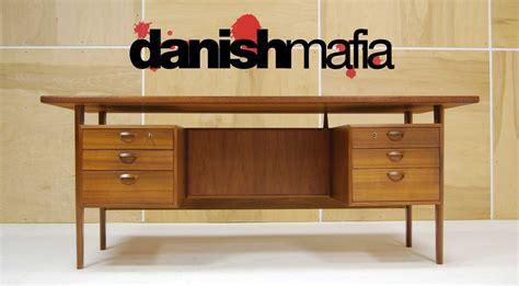 Mid Century Office Desk Mid Century Modern Teak Kristiansen Office Desk Credenza Eames Mafia