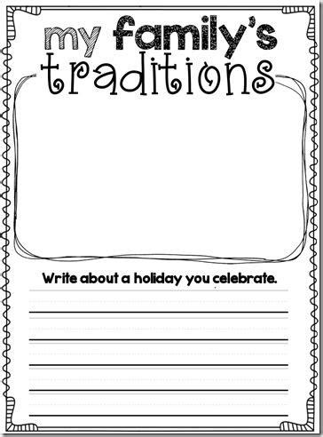 new year traditions worksheet family traditions kinderland collaborative