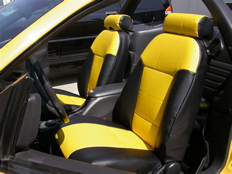 2003 ford mustang leather seat covers ford mustang 1994 2004 iggee s leather custom fit seat