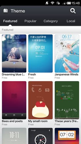 themes htc 616 xiaomi redmi 1s design features shootout asus