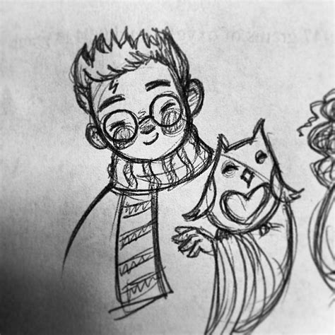 Doodles N Sketches by The Of Feelingfairyish Harrypotter Doodles Harry