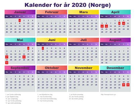 kalender   norge newspicturesxyz