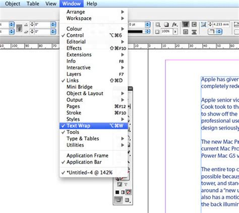 indesign tutorial menu beginner s guide to adobe indesign create a simple but