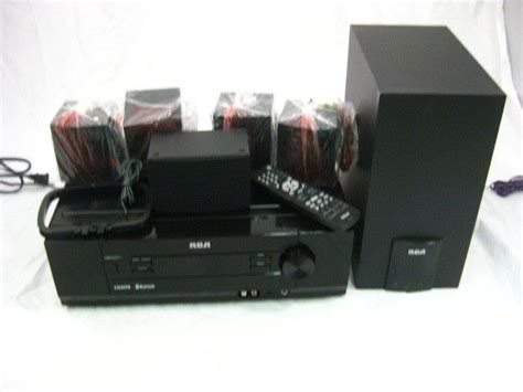 rca rthb home theater system  read rca