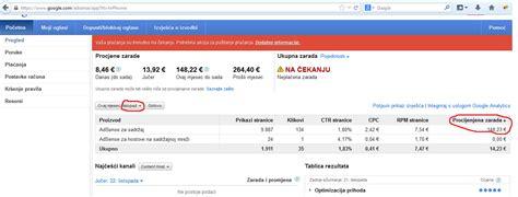 Adsense Zarada | adsense zarada iz hrvatske moje isplate i zarade