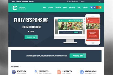 html ui themes 35 stylish wordpress themes with a flat ui web design