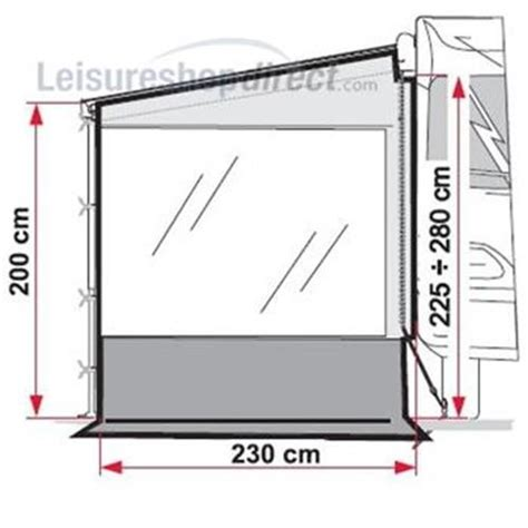 fiamma pro awning side panel w fiamma awnings