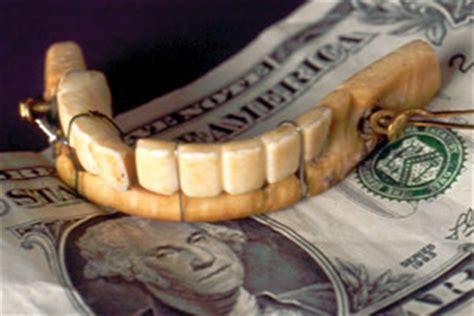 facts  washingtons teeth   disgusting