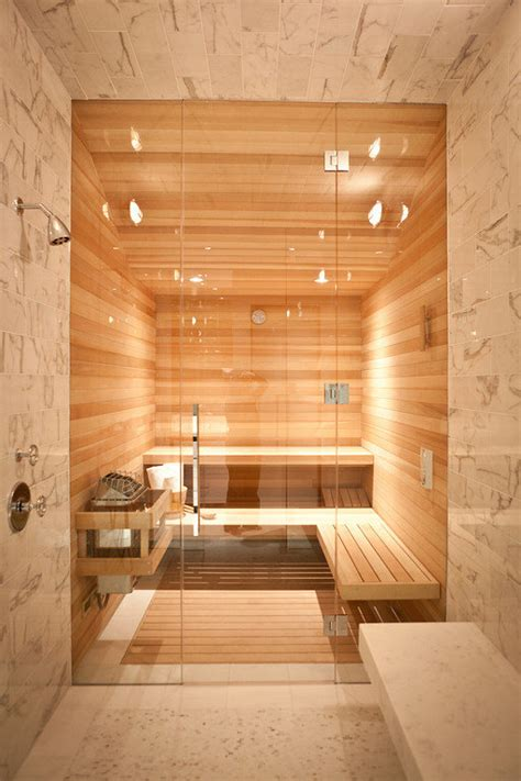 A Steam Room by A Stunning Steam Room Leads To The Interior Sauna A 1913 Edwardian Home Becomes A