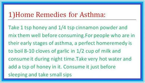 home remedies for asthma home remedies