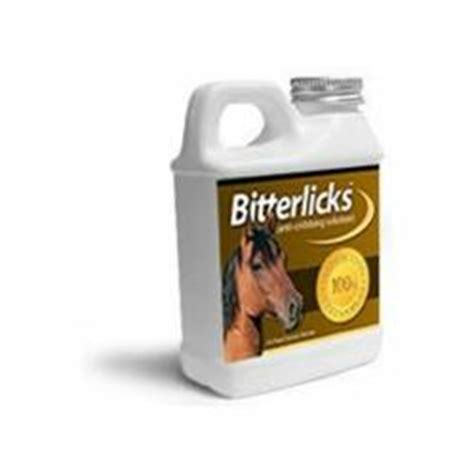 Cribbing Horses Treatment by Bitterlicks Cribbing Cure Is A New Cribbing