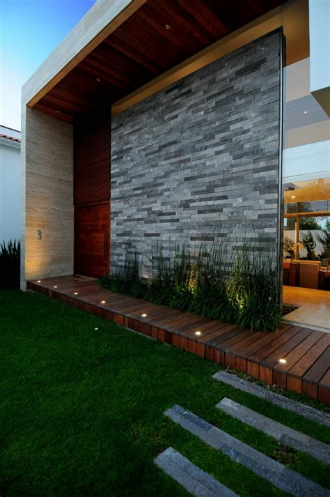 exterior wall designs ev house design by ze arquitectura architecture