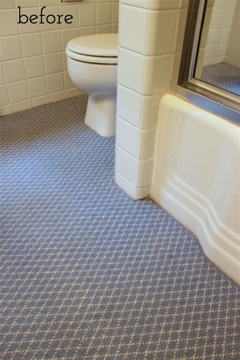 carpeted bathrooms one room challenge week 1 bathroom remodel driven by