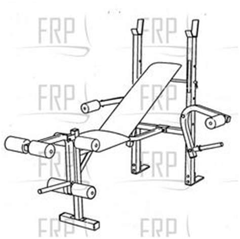 weight bench parts weider muscle 1382 webe13760 fitness and exercise