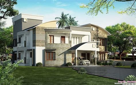 home design cute modern luxury house modern luxury house unique house designs keralahouseplanner