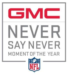 Nfl Gmc Sweepstakes - gmc nfl never say never sweepstakes sweepstakes advantage