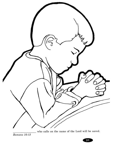 Children Praying Coloring Page Az Coloring Pages Child Coloring Pages
