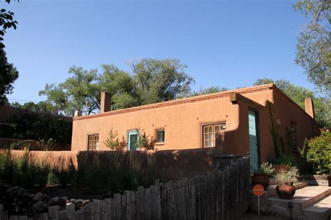 santa fe style home regional architecture and preservation in santa fe nm