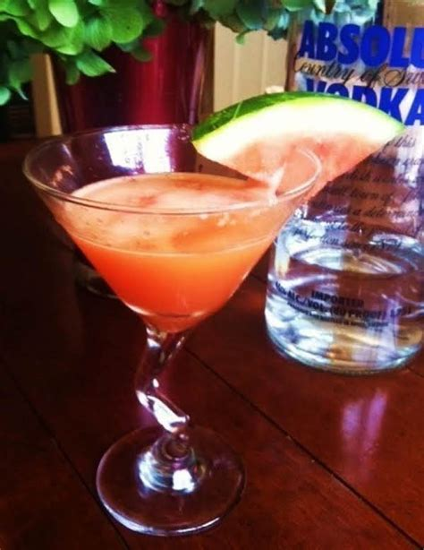 watermelon martini recipe watermelon vodka martini recipe just a pinch