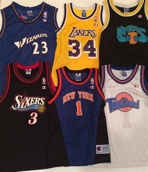 just added to the store vintage chion nba jerseys