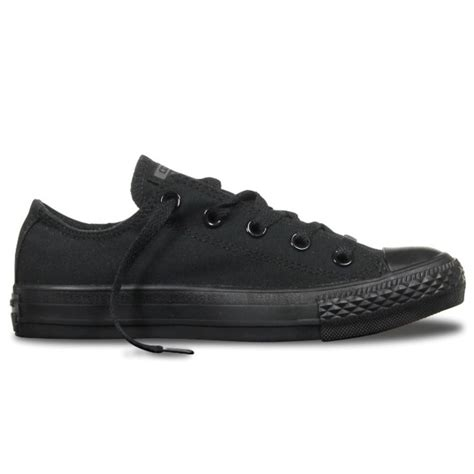 Converse Ct Unisex Low Black converse converse ct all ox black mono f10 m5039 unisex trainers converse from