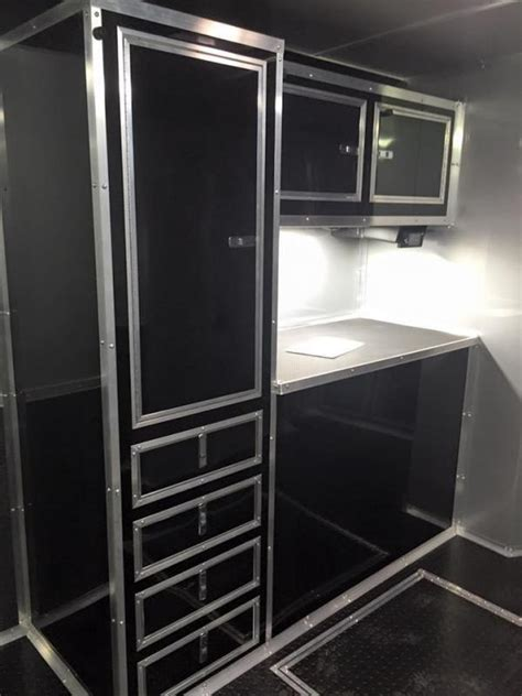 cargo trailer with bathroom 2017 34 bathroom shower trailer auto master car racing trailer enclosed trailer