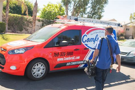 comfort air palm springs palm springs and coachella valley heating system maintenance