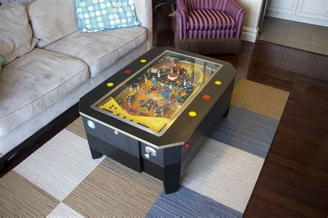 handmade pinball coffee table by wooden it be