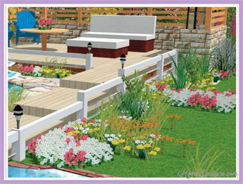 home garden design software free free home landscape design software 1homedesigns com